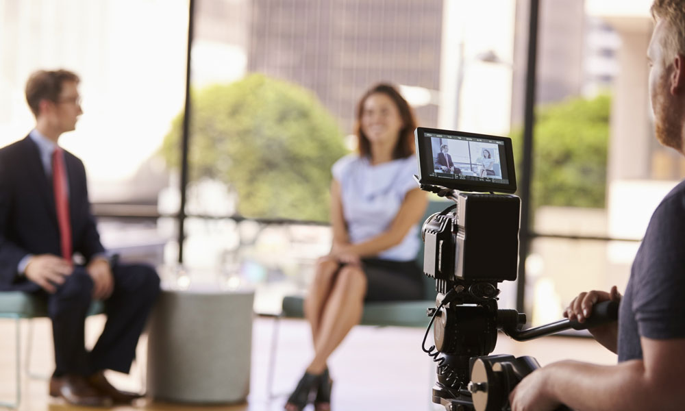 Tailoring interviews to audiences for Global CEO's