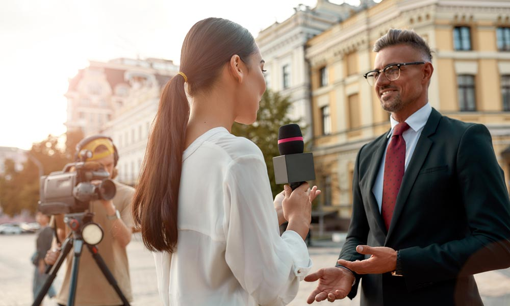 Online Media Training How Media Training Can Help Keep Your Brand in the News Blog Image